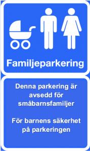 familjeparkering-parkeringsskylt-barnens-sakerhet-pa-parkering